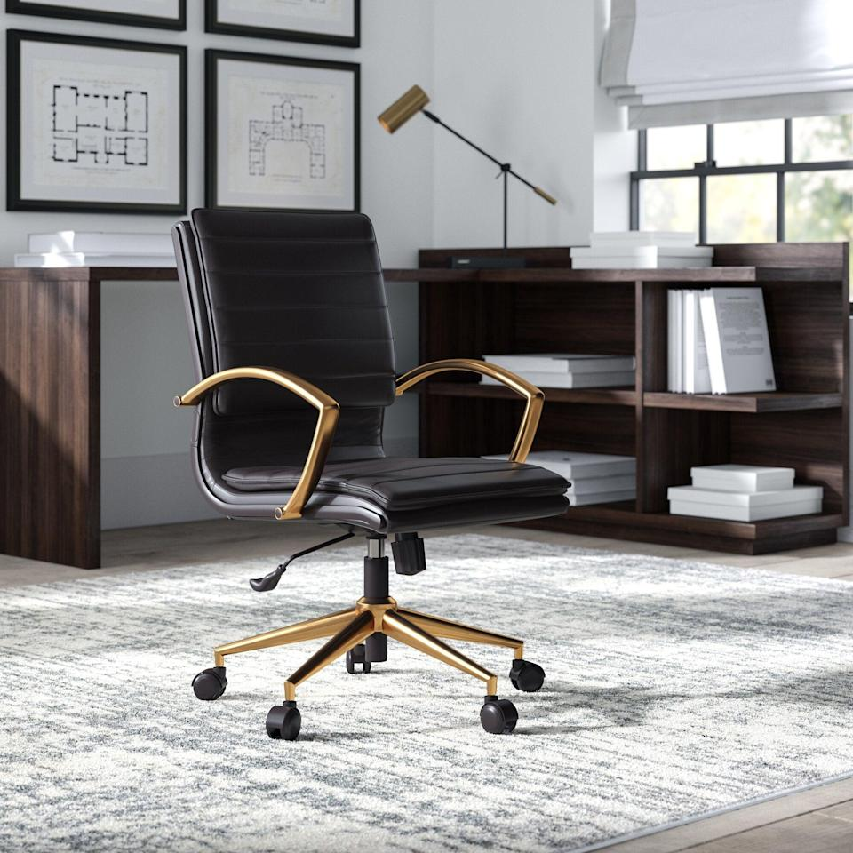 "<br><br><strong>Greyleigh</strong> Opheim Conference Chair, $, available at <a href=""https://go.skimresources.com/?id=30283X879131&url=https%3A%2F%2Fwww.wayfair.com%2Ffurniture%2Fpdp%2Fgreyleigh-opheim-conference-chair-gryl4903.html"" rel=""nofollow noopener"" target=""_blank"" data-ylk=""slk:Wayfair"" class=""link rapid-noclick-resp"">Wayfair</a>"