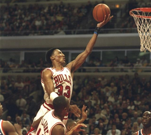 Jerry Krause drafted Scottie Pippen in 1987. (Getty Images)