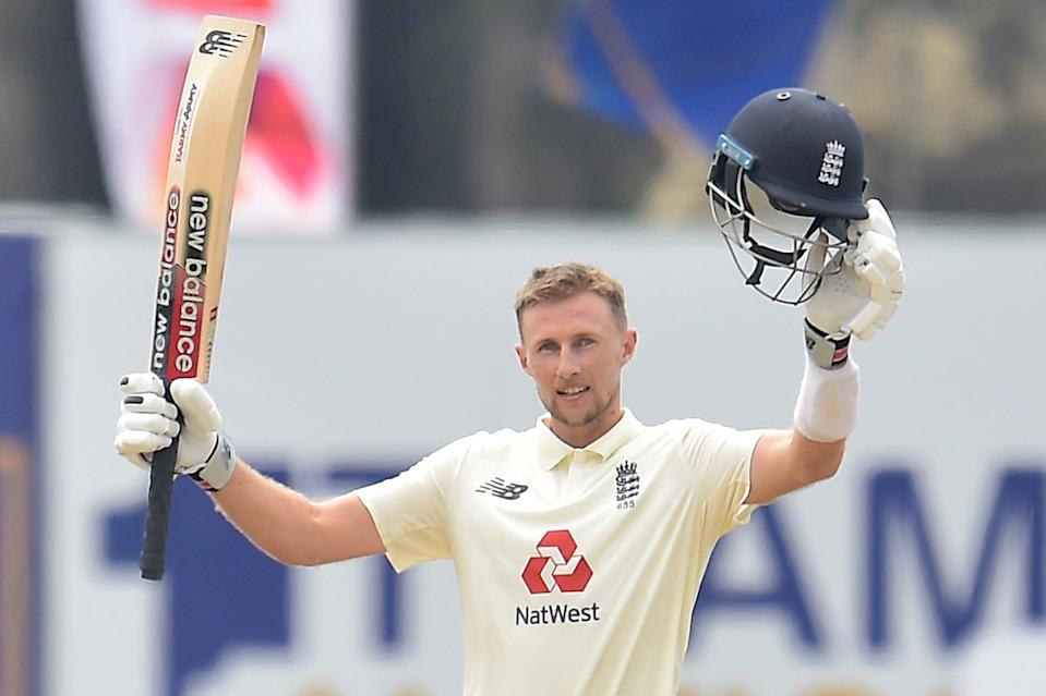 <p>Joe Root struck his 19th Test century for England in Galle</p> (SLC)