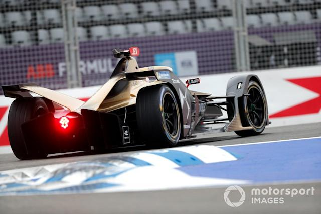"Jean-Eric Vergne, DS Techeetah, DS E-Tense FE20 <span class=""copyright"">Sam Bloxham / Motorsport Images</span>"