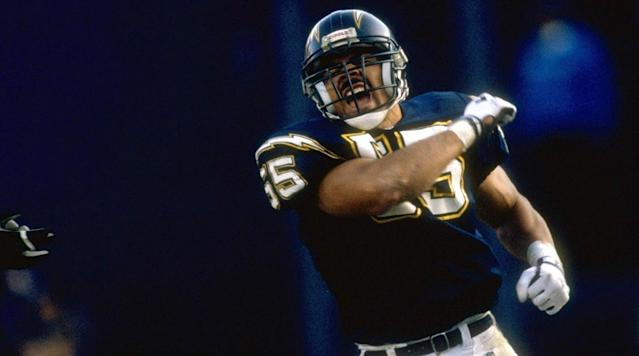 "Junior Seau is the subject in ESPN's latest ""30 for 30"" documentary series. (AP)"