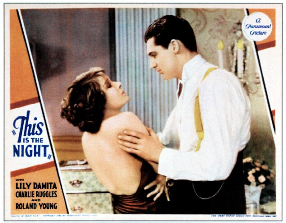 <p>In 1932, Grant appeared in his first film, <em>This is the Night</em>, and received positive reviews. He appeared in six more films that year, including <em>Madame Butterfly, Sinners in the Sun</em>, and<em> Blonde Venus</em>, but they weren't all huge box office successes.</p>