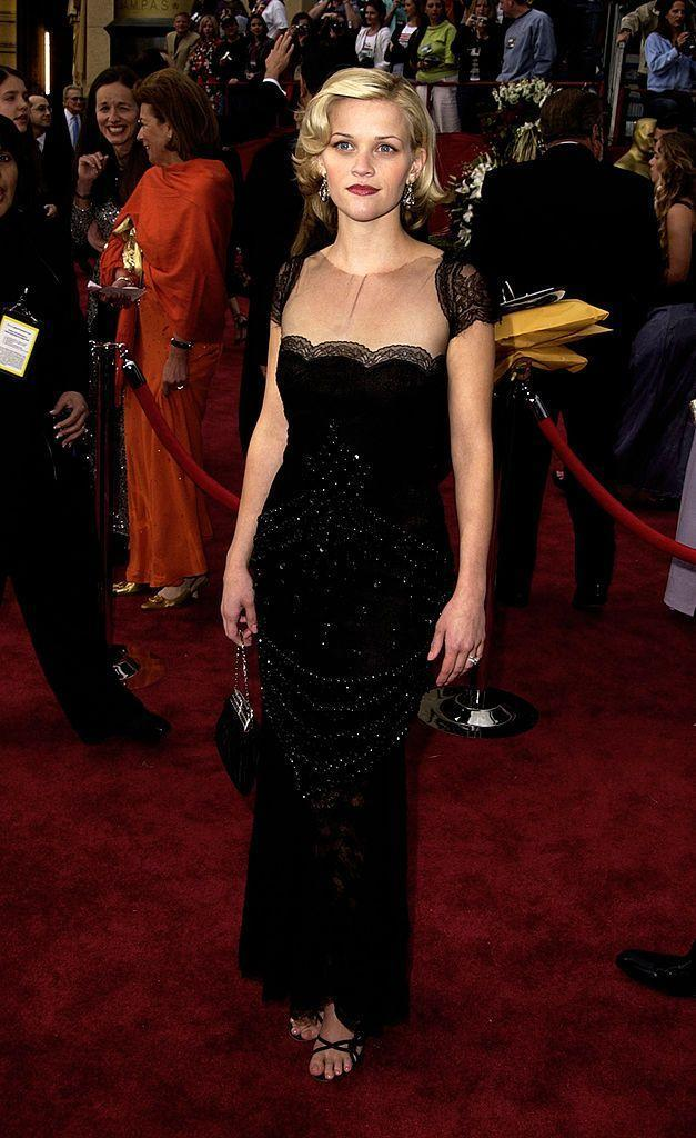 <p>Hot on the heels of her breakout role in Legally Blonde, Witherspoon attended the 2002 Oscars with ex-husband Ryan Philippe. Four years later she won the Best Actress award for Walk The Line.</p>