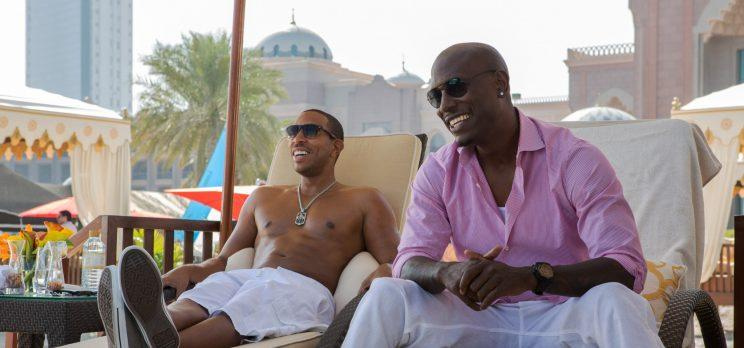 Tej, played by Ludacris, and Roman, played by Tyrese Gibson