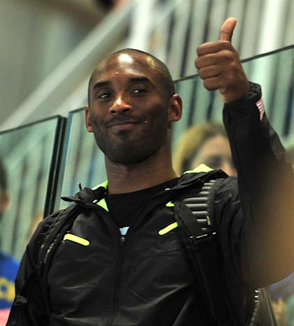 Kobe Bryant is a huge star in Europe (EFE)