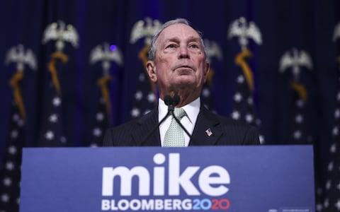 Mike Bloomberg, one of the richest men in the world, once served as New York mayor - Credit: Drew Angerer/Getty Images