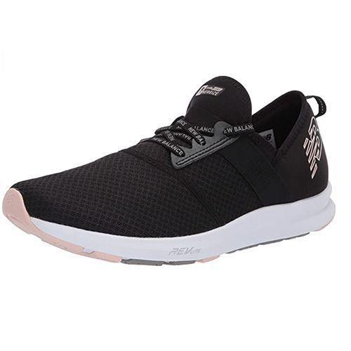 """<p><strong>New Balance</strong></p><p>amazon.com</p><p><strong>50.00</strong></p><p><a href=""""https://www.amazon.com/dp/B07RK8BL1Q?tag=syn-yahoo-20&ascsubtag=%5Bartid%7C10055.g.36652980%5Bsrc%7Cyahoo-us"""" rel=""""nofollow noopener"""" target=""""_blank"""" data-ylk=""""slk:Shop Now"""" class=""""link rapid-noclick-resp"""">Shop Now</a></p><p>The mesh upper here provided good breathability and movement. This pair also stood out for offering a great fit in our tests. """"Right when I put them on they started molding to my feet,"""" raved one tester. They are available in a bunch of different colors, too. </p>"""