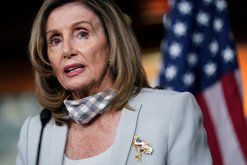 Pelosi says vote early by mail to avoid USPS delays