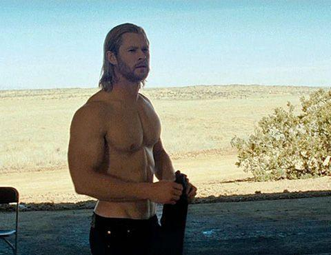 Chris Hemsworth has stacked on the muscle for the upcoming 'THOR.' Credit: Paramount Pictures
