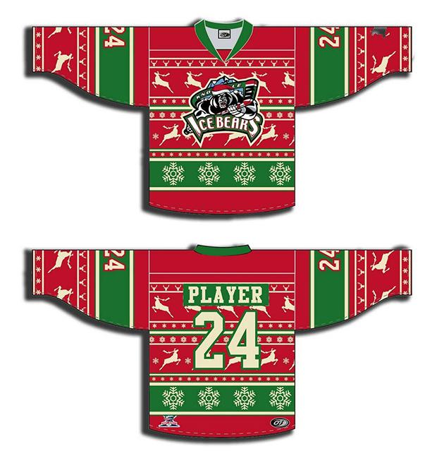Crying humbug on hockey s ugly Christmas sweater jerseys a612964a7