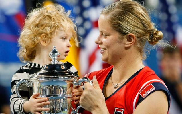 Kim Clijsters made her first return from tennis in 2009, when she won the US Open - Reuters