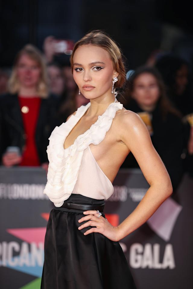 Lily Rose Depp Just Wore A Sexy Chanel Gown That Hit The Runway Less Than A Week Ago