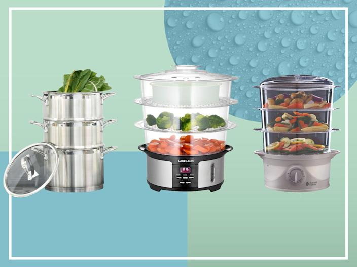 <p>Smart food steamers can take care of all the timings for you</p> (iStock/The Independent)