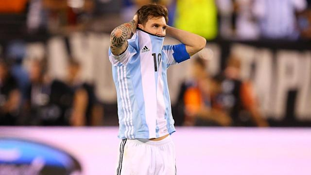 FIFA's decision to ban Lionel Messi for four Argentina matches is outrageous, according to Barcelona team-mate Gerard Pique.