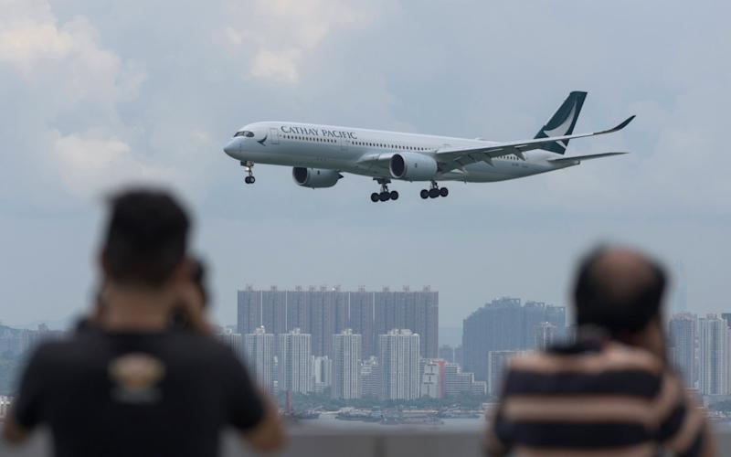 Hong Kong Express Airways, which is owned by Cathay Pacific, apologised