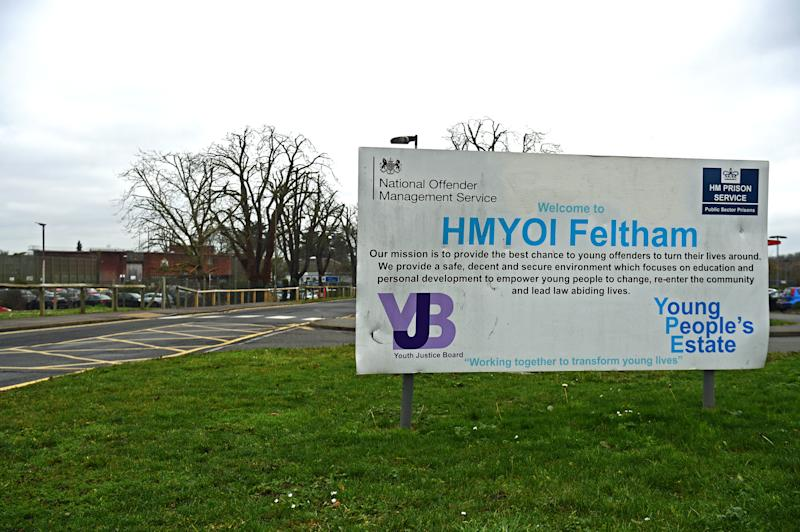 Feltham Young Offender Institute, where a disturbance occurred at lunchtime on Friday requiring around 14 staff to be treated. Feltham is home to around 100 boys and young men aged between 15 and 21.