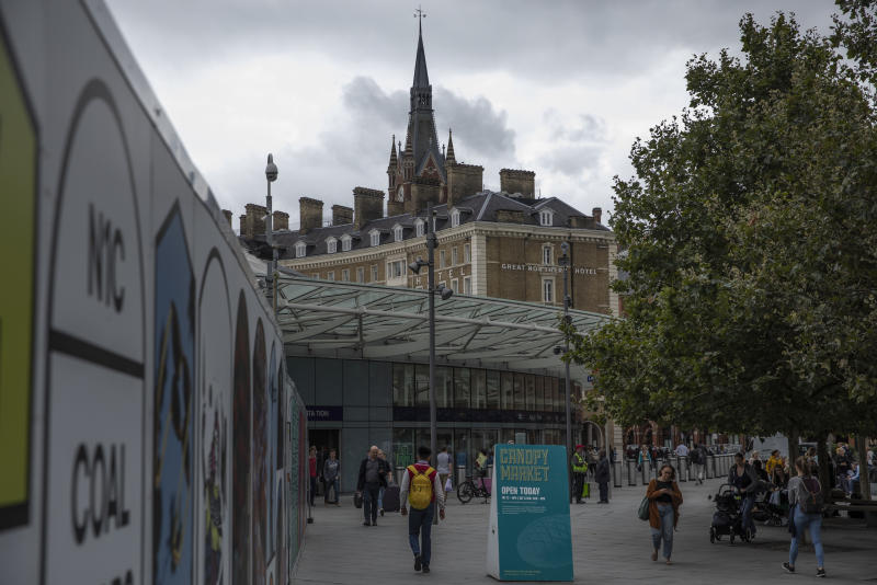 An inquiry has been launched after CCTV cameras using facial-recognition systems at King's Cross were revealed to have been used (Photo by Dan Kitwood/Getty Images)