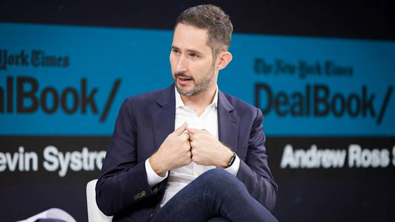 Kevin Systrom, co-founder of Instagram, at the annual New York Times DealBook conference in New York on Nov. 6, 2019. (Samuel Corum/The New York Times)
