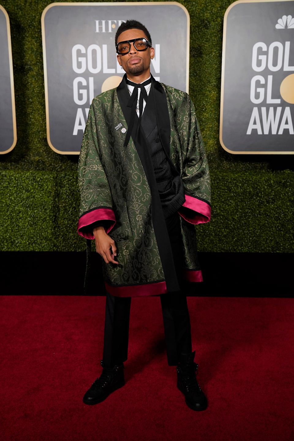 Jackson Lee attends the 78th Annual Golden Globe Awards held at The Rainbow Room in New York, New York. (Photo: Peter Kramer/NBC via Getty Images)