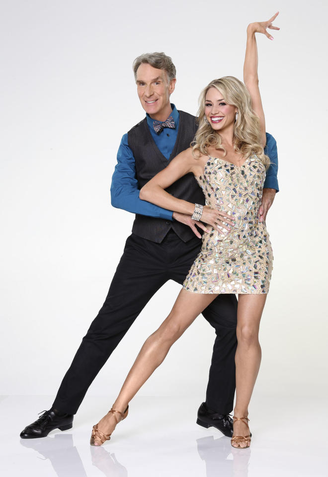 "Bill Nye joins first time professional partner Tyne Stecklein on ABC's ""Dancing With the Stars"" Season 17."