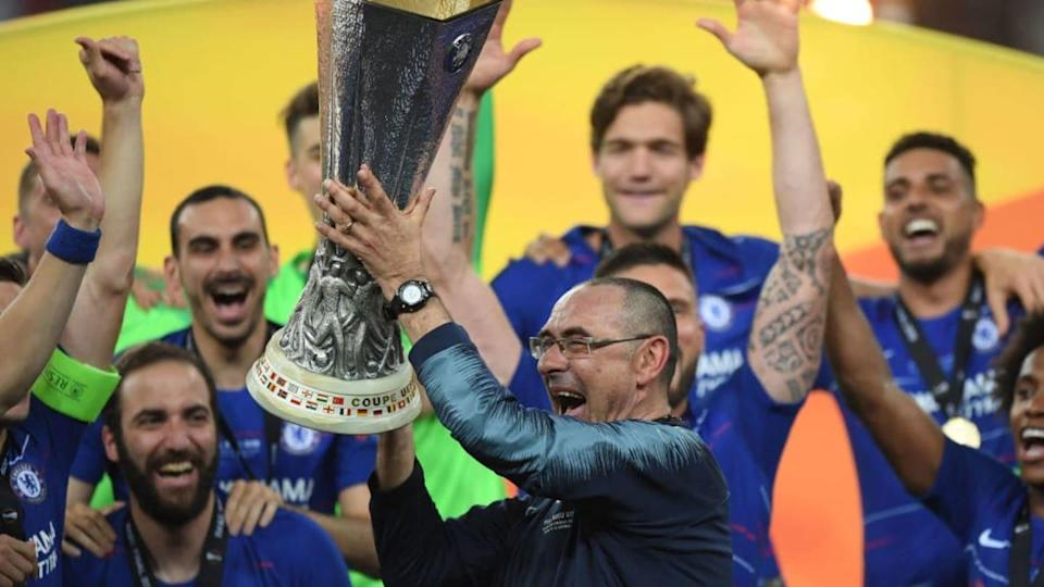 Sarri solleva l'Europa League | Shaun Botterill/Getty Images