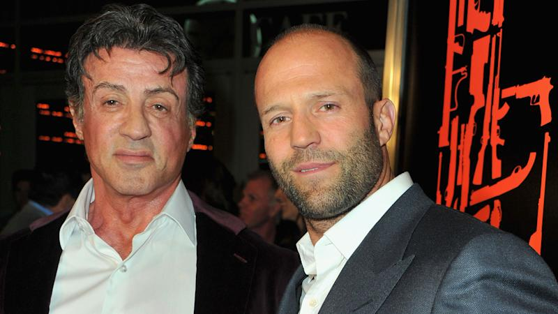 Sylverster Stallone and Jason Statham