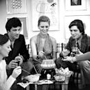 <p>As fondue grew more and more popular in the early '70s, it became the perfect way to gather your friends together for a night of cheesy goodness. </p>