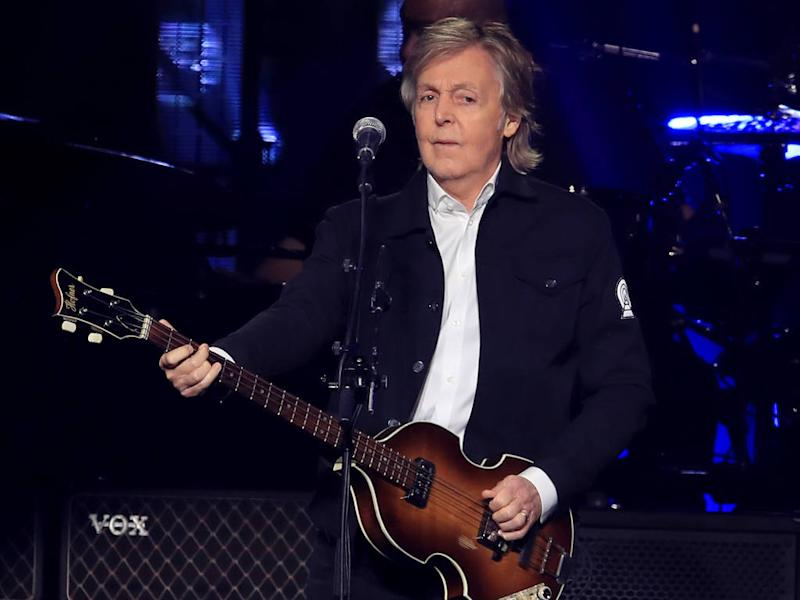 Paul McCartney consulted Brian May over Glastonbury slot