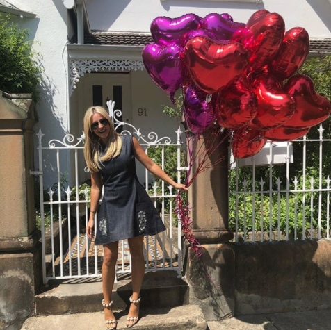 After a rough 2016/2017, but Roxy's floating on cloud nine these days. Photo: Roxy Jacenko