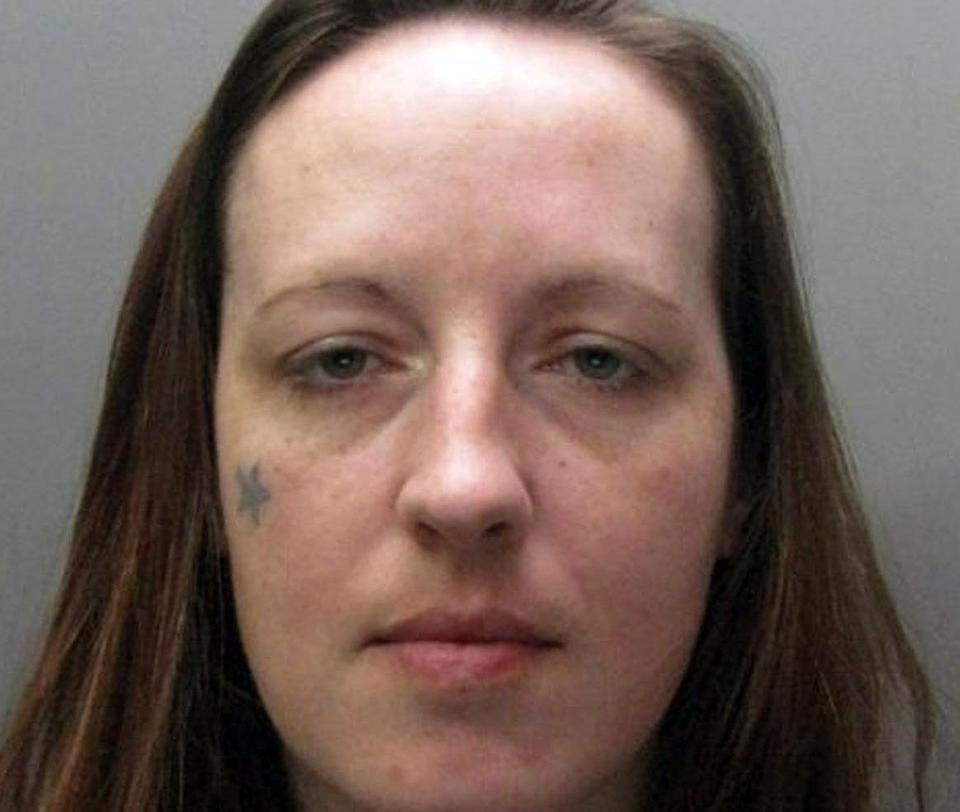 <em>Suicide pact – serial killer Joanna Dennehy has reportedly tried to kill herself in prison in a suicide pact with her inmate girlfriend (Picture: AP)</em>