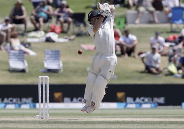 BJ Watling on his way to his double century (Mark Baker/AP)