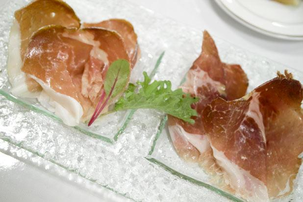 <p>is a prized delicacy from the Parma region of Italy. Made from the entire of a pig, the long aging process and careful craftsmanship has made this cured meat 'the king of charcuterie.'</p><p> </p>