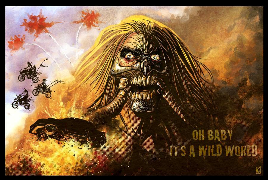 Immortan Joe would look right at home on the cover of a graphic novel, at least from the looks of this KR-Whalen piece.