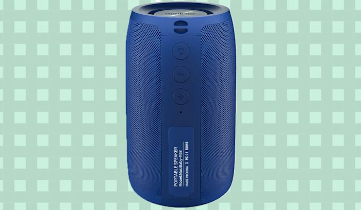 The MusiBaby Bluetooth speaker offers some impressive features for just $21.