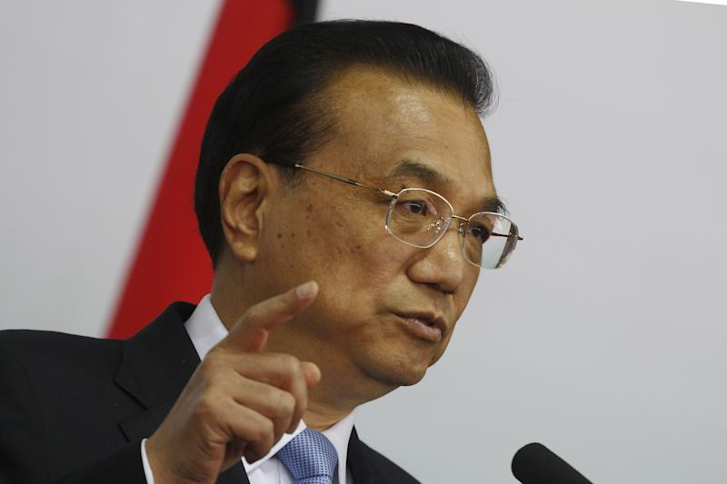 China's second-in-command: We're facing 'greater difficulties' in keeping economy stable