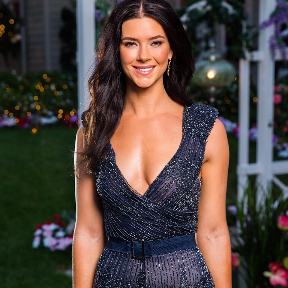 Bachelor star Brittany Hockley.