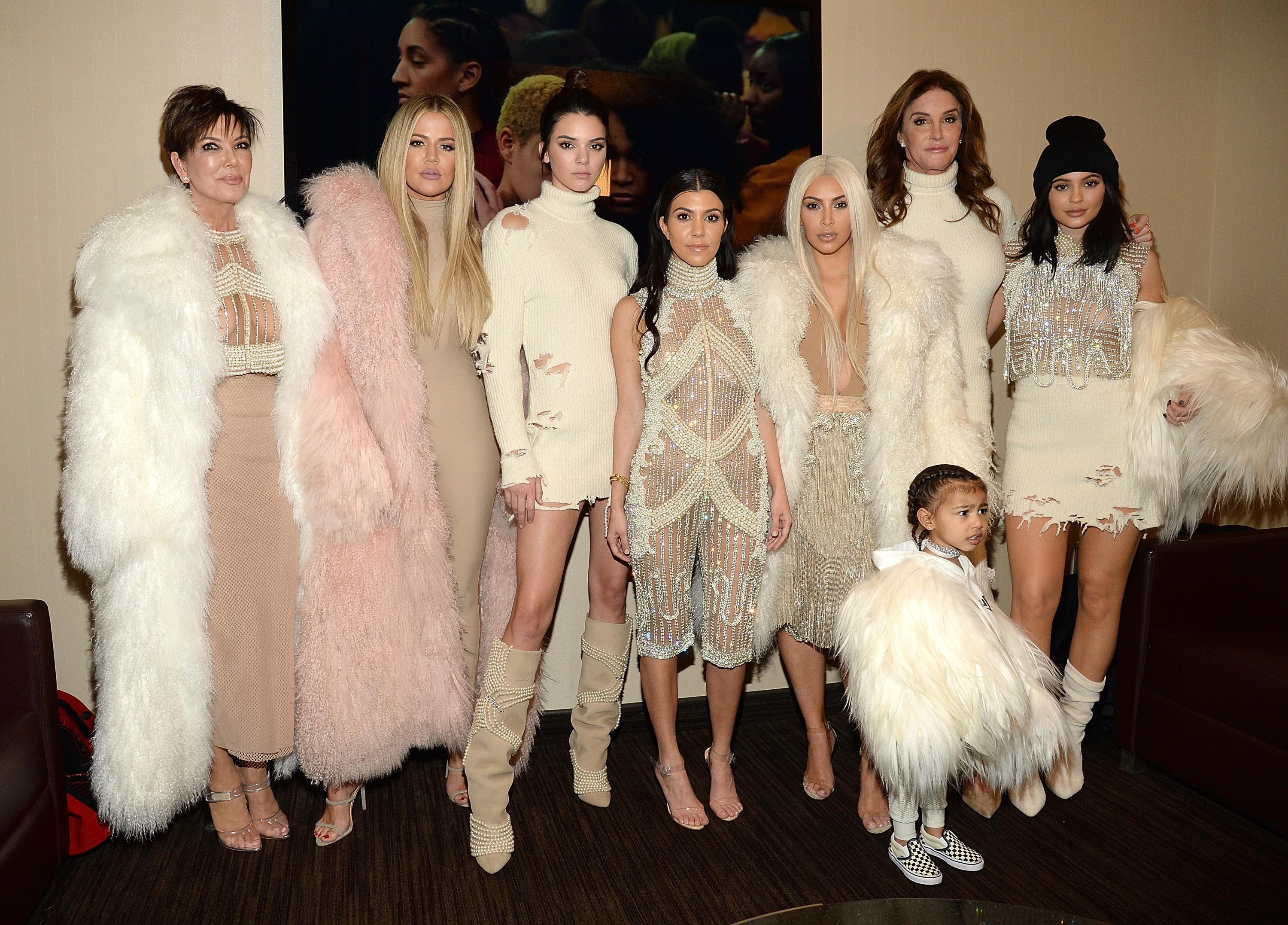 Three generations of Kardashians (and Caitlyn Jenner)