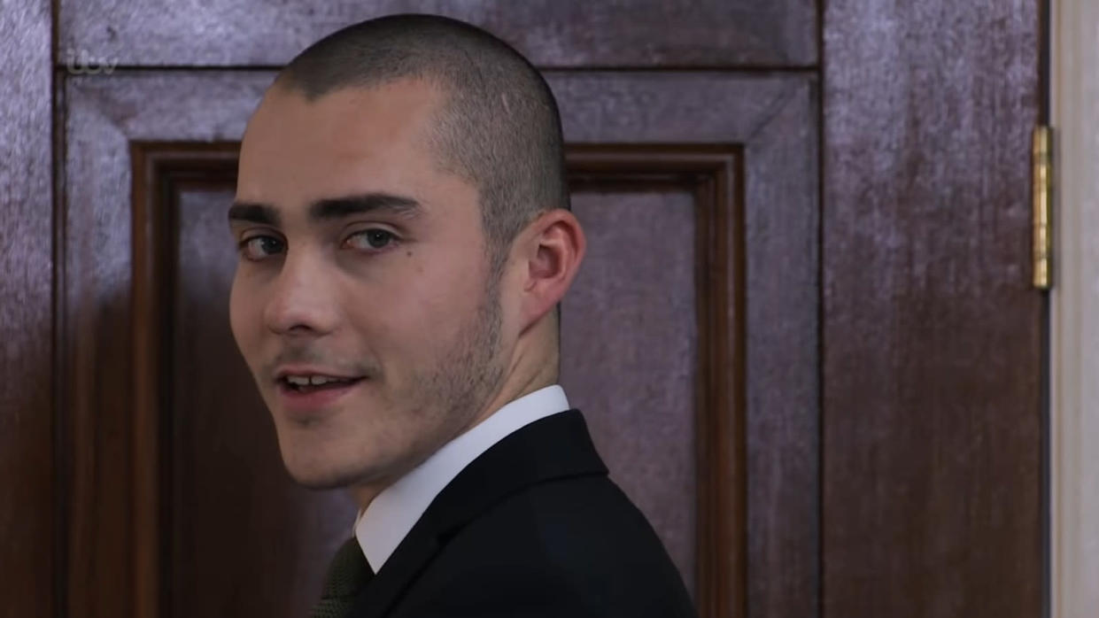 Corey Brent appears to have got away with murder in 'Coronation Street'. (ITV)