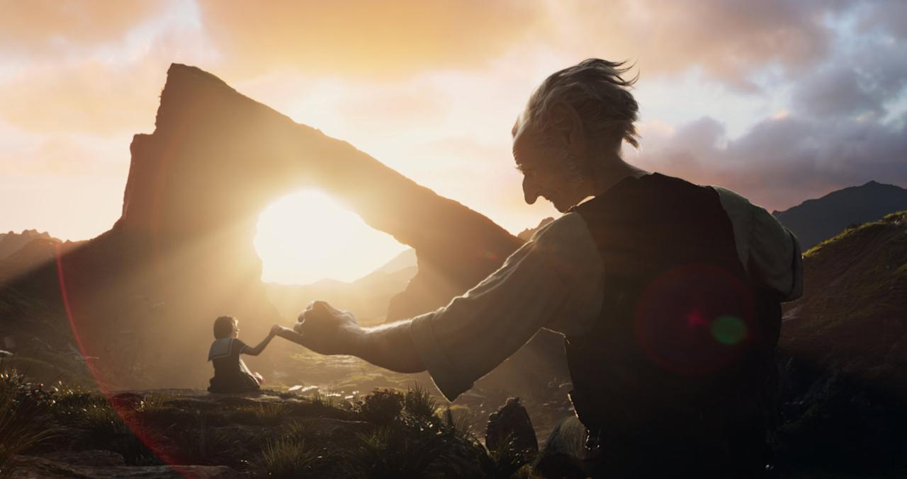 <p>Steven Spielberg's take on the Big Friendly Giant proved an unexpected flop, and is the least highly regarded Dahl adaptation with an IMDb rating of 6.4, and a Rotten Tomatoes audience score of 58%. Critics were a bit kinder though, as it's rated 74% fresh. (Picture credit: Disney) </p>