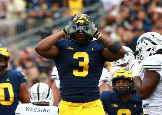 Rashan Gary is one of a pack of talented edge rushers this year (Getty Images)