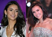 """<p><b>When: January 2017 </b><br>Nina Dobrev has rocked long dark tresses for such a long time that it came as quite a shock when she debuted a shorter, redder, sexy blunt lob at the London premiere of """"xXx: The Return of Xander Cage."""" The cut is cute and youthful, just like Nina! The former Vampire Diaries starlet said of her new 'do on Instagram: """"Short hair. Don't care New year. New Do(brev)."""" <i> (Photos: Getty Images/January 2017)</i> </p>"""