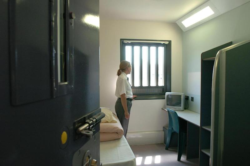 A cell in HMP Bronzefield (PA Archive/PA Images)