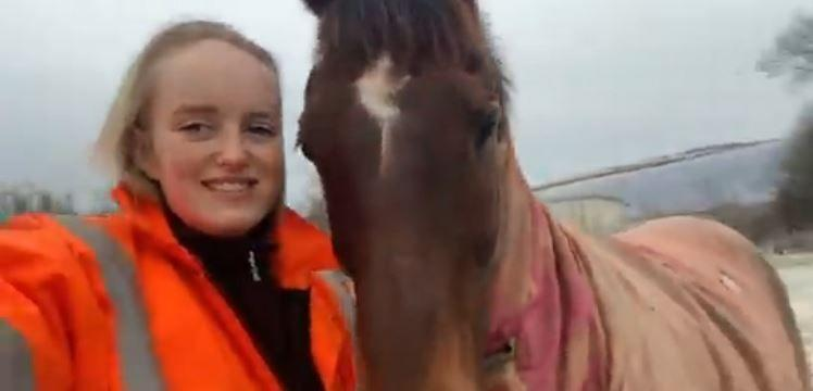Gracie Spinks was fatally injured in the field where she rode her horse Paddy(BPM Media)