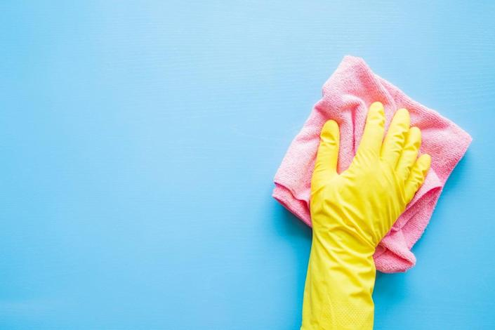 <p>We know from countless studies that women habitually take on the lion's share of housework and childcare  </p> (Getty Images)