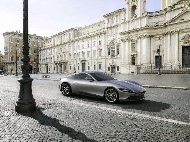 Ferrari reveals polished and powerful mid-engine coupe in Rome