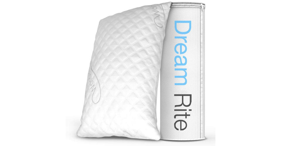 Dream Rite Shredded Hypoallergenic Memory Foam Pillow (Photo: Amazon)