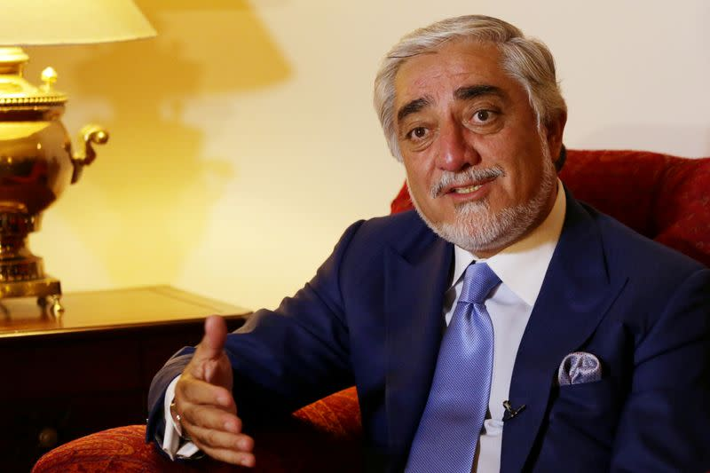 FILE PHOTO: Interview with Afghan peace official Abdullah Abdullah in Islamabad