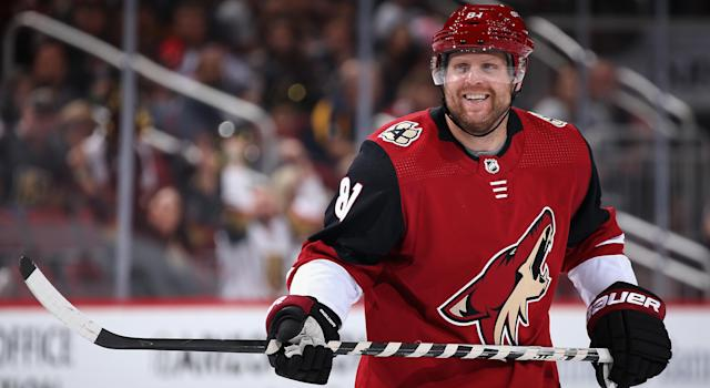 Can Phil Kessel build on his best game yet with the Arizona Coyotes? (Photo by Christian Petersen/Getty Images)