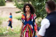 """<p>A traditional garment of the Middle East, a caftan can be worked into an everyday wardrobe with ease. The caftan has a free-spirited ethos that feels <a href=""""https://www.marieclaire.com/fashion/g116/summer-dresses/"""" rel=""""nofollow noopener"""" target=""""_blank"""" data-ylk=""""slk:equal parts luxurious"""" class=""""link rapid-noclick-resp"""">equal parts luxurious</a> and liberating—and and the benefits are twofold when you wear one in the peak of <a href=""""https://www.marieclaire.com/fashion/g27611163/plus-size-summer-outfits/"""" rel=""""nofollow noopener"""" target=""""_blank"""" data-ylk=""""slk:the summer heat."""" class=""""link rapid-noclick-resp"""">the summer heat.</a> A favorite among fashion icons like André Leon Talley, the Olsens, <a href=""""https://www.marieclaire.com/fashion/g32391327/rihanna-style/"""" rel=""""nofollow noopener"""" target=""""_blank"""" data-ylk=""""slk:and Rihanna"""" class=""""link rapid-noclick-resp"""">and Rihanna</a>, we've seen editors, designers, and even politicians opting for the ethereal caftan in place of the ubiquitous sundress. Elizabeth Taylor—often regarded as the caftan queen—loved the glamorous robe silhouette<em> so</em> much, she decided to marry Richard Burton in a tie-dye and embroidered feather version. Invest in a caftan for future music festivals, dressy social obligations, or to strut down city streets. Ahead, we've got 17 for you to choose from.</p>"""