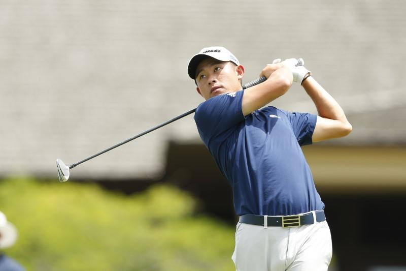 Golf: Morikawa hangs on for playoff win at Muirfield